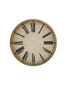 New Years free clock face printables (cd size and plate)