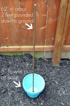 DIY Garden Planter ~ since I have such limited space now, think I may try this one