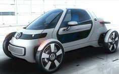 Photographs of the 2012 Volkswagen NILS Concept. An image gallery of the 2012 Volkswagen NILS Concept. Luxury Sports Cars, Sport Cars, Bmw Isetta, Electric Car Concept, Electric Cars, Electric Vehicle, Bmw I3, Auto Volkswagen, Volkswagen Models