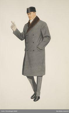 Costume Design Sketch, Mens Overcoat, Svarta Skor, Vintage Outfits, Vintage Fashion, Vintage Men, Retro Vintage, Ivy Style, Turkish Fashion