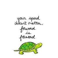Remember the hare and the tortoise #maybebeautiful #inspiration #believe #dreambig #fearless