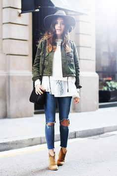 On Aida of Dulceida:#layers #streetstyle