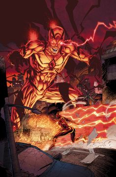 THE FLASH #45 -  Written by ROBERT VENDITTI and VAN JENSEN,  Art and cover by BRETT BOOTH and NORM RAPMUND
