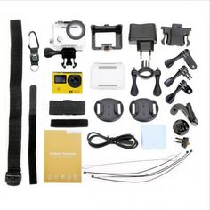 2 Näytön 4K Action Kamera € 51,72 | Tavaraa Halvalla Kiinasta Technology Gadgets, Geeks, Geek Stuff, Action, Geek Things, Group Action, Geek