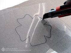 Stencil fai da te - tutorial