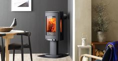The Jøtul F 370 has convection plates to allow the stove tobe placed close to…