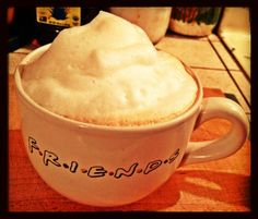 Now that's what I call Froth!:) haha:)      I Luv My Starbucks in the AM, but at night I make one of those Instant Starbucks VIA Ready Brew Javas and Add my Own Froth:)  Yummy!:)     If this Recording Studio thing doesn't work out, I think I'd make an Awesome Barista!:) haha:)      Rock On!:) By: #JamminJo 2013