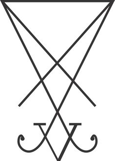 A sigil of Lucifer that was invented in 2004 by Joy of Satan, and then adopted as the main symbol of the Church of the Elders in 2007. It is based upon part of an earlier sigil from the Grimorium Verum.