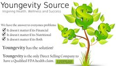 We have the answer to everyones problems, financial, nutritional, Both? It's all right here: http://www.youngevitysource.com/