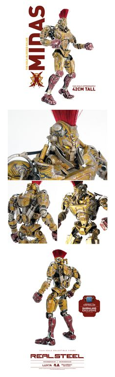 MIDAS! The Real Steel...