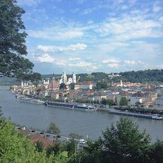 Passau - Birthplace of Roswitha Kobler (Hoenisch)