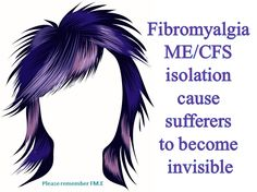 Fibromyalgia ME/CFS isolation cause sufferers to become invisible