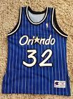 For Sale - Orlando Magic Shaquille Oneal Shaq jersey champion sz 44 sewn stitched - http://sprtz.us/MagicEBay