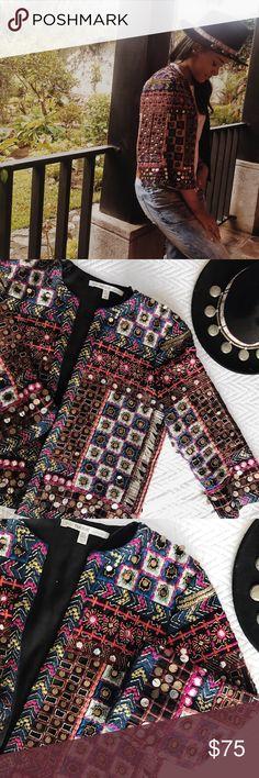 Zara Trafaluc Outwear Ethnic Embroidered Indian Boho jacket Zara Jackets & Coats