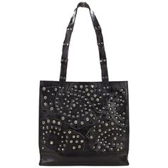 Patricia Nash Toscano Leather Tote ($229) ❤ liked on Polyvore featuring bags, handbags, tote bags, black, leather tote handbags, genuine leather tote bags, tote handbags, leather handbag tote and patricia nash tote