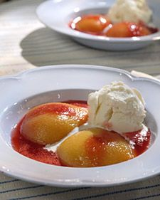 My grandparents had peach melba on their honeymoon. Seems like the perfect classic but elegant dessert for a newlywed couple. Elegant Desserts, Fancy Desserts, Just Desserts, My Recipes, Dessert Recipes, Favorite Recipes, Dessert Ideas, Bob Marley, Martha Stewart
