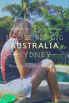 House sitting in Australia for the solo female traveler.