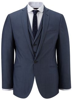Navy blue wedding suit Will go well with girls in silver?