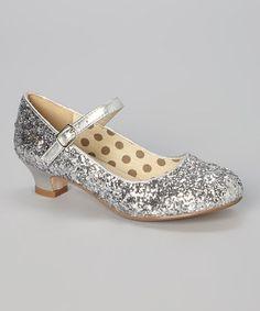 Look at this #zulilyfind! Silver Sparkle Quincy Mary Jane #zulilyfinds