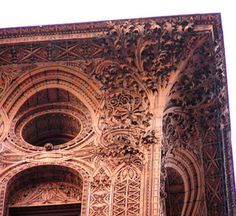 Terracotta details of The Guaranty Building, designed by Louis Sullivan and Dankmar Adler, Buffalo NY: Good lord, that is amazing. Why isn't my adopted home more of a tourism draw??