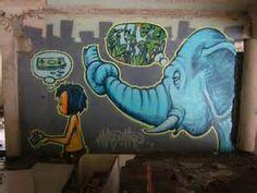 ... Elephants of Bangkok Graffiti Mural Art Graffiti Murals Mural graffiti