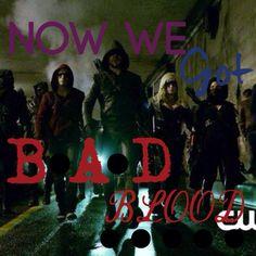 TS-Bad Blood Arrow edition