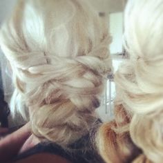 Kate Middleton Dutch Braid Up do ~ Eisy Morgan.. I love love this. Wish I could do my hair this way. Very romantic