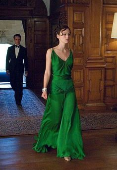 """the green dress, """"Atonement"""""""