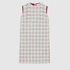 Gucci Lurex tweed dress