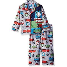 db4e103242 Thomas   Friends Boys  2-Piece Team Thomas Pajama Set
