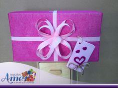 Envoltura con tela. #regalos y #envolturas Amer