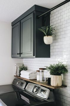 Mudroom Laundry Room, Laundry Room Remodel, Laundry Room Design, Ikea Laundry Room Cabinets, Laundry Room Layouts, Laundry Decor, Bathroom Laundry Rooms, Kitchen Cabinets, Organized Laundry Rooms