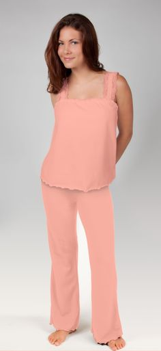 Mighty Nighties is a brand new sleepwear line that's as cute as it is functional.    The new line for women offers both moisture and odor-wicking technology and is the only 100% cotton nightwear line on the market- making it just as soft as it is performing.   The designs are trimmed with lace details making it feminine and cute, but make no mistake, Mighty Nighties are fierce performers keeping you cool and dry and odor free. Great pjs to combat nightsweats too!