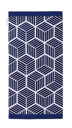 Sunnylife Lennox Luxe Towel - Blue/White