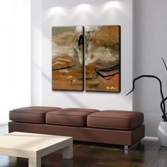 'Smash II' by Art Alexis Bueno 2 Piece Wrapped Canvas Wall Art Set