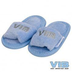 VIB blauw met zilveren letters - aaandacht