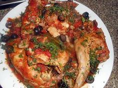 The best recipe for Rabbit Masséna! To try it is to adopt it! Good Food, Yummy Food, Rabbit Food, International Recipes, Vegetable Pizza, Food Videos, Crockpot, Succulents, Beef