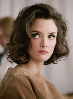 Charlotte Le Bon, classic bob, curled, big eyes. lovely hair