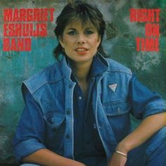 Margriet Eshuijs Band - Right On Time album with hit single Black Pearl. Female Singers, Jazz, Album, Cover, Dutch, Pearl, Black, Dutch Language, Bead