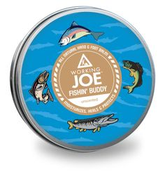 Working Joe Fishin' Buddy - all natural hand & foot balm. Unscented for you and your fishin' buddies. Animals For Kids, The Balm, Moisturizer, Skin Care, Natural, Products, Moisturiser, Skincare Routine, Skins Uk