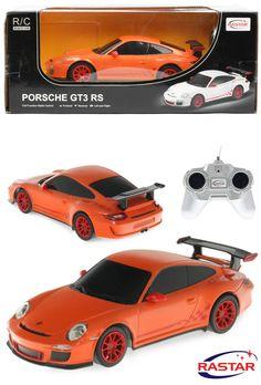 Porsche GT3 RS RC Radio Control Car Scale:1/24 Orange Colour New & Boxed Rastar in Toys & Games, Radio-Controlled, Cars | eBay