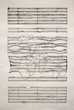 soundwave is part of drawings - notating the song on my own terms ink and paper Street Art Graffiti, Graphic Score, Arte Linear, Poesia Visual, Inspiration Artistique, Experimental Music, Plakat Design, Design Art, Graphic Design
