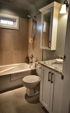 """like  shower tile, floor and vanity cabinet and top  Small spaces, Kitchen and Bath renovation."""" """"almost the same size as our bathroom"""" """"bathroom but needs shower stall"""" """"love the small bathroom"""" """"small bathroom...Condo bathroom...upstairs bathroom"""""""