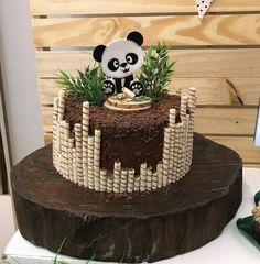 Cake fondant baby sweets Ideas for 2019 Baby Cakes, Baby Shower Cakes, Fondant Baby, Fondant Cakes, Cupcake Cakes, Panda Party, Pretty Cakes, Cute Cakes, Panda Birthday Cake