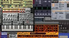 Great instruments that you can download for your DAW