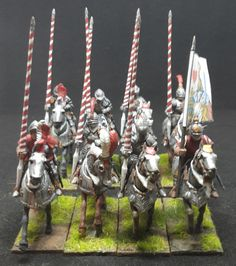 War of the Roses (1455–1487) Knights (Perry Miniatures)