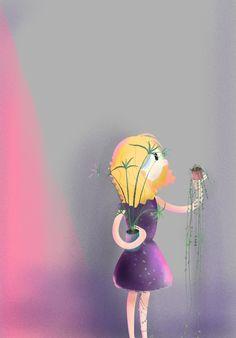 House Plants on Behance #plantlady #plants #plantparenthood #illustration #characterdesign