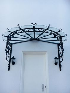 Front Gate Design, Door Design, House Design, Marquise Pergola, Fachada Colonial, Timber Roof, Build Your House, Metal Railings, Window Awnings