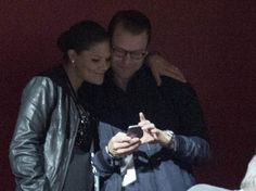 Crown Princess Victoria and Prince Daniel attended the U2 concert in Sweden, 17 sep 2015