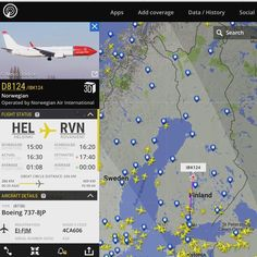 No onpa #Norwegian myöhässä taas... eipähän ole vielä kiire lähteä kentällä piipahtamaan #flightradar24
